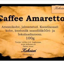 Cafe Amaretto 100g valmispakend