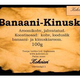 Banaani-Kinuski 100g valmispakend