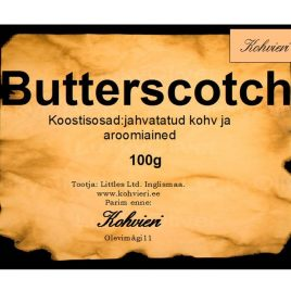 Butterscotch 100g valmispakend