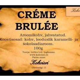 Creme Brulee 100g valmispakend