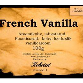 French Vanilla 100g valmispakend