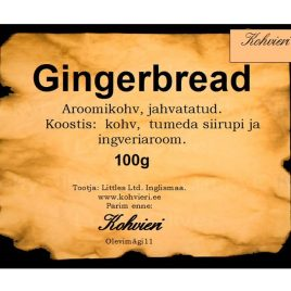 Gingerbread 100g valmispakend