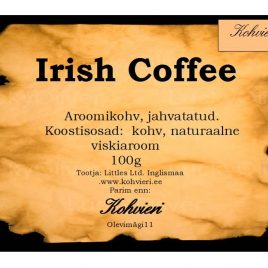 Irish Coffee 100g valmispakend