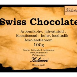 Swiss Chocolate 100g valmispakend