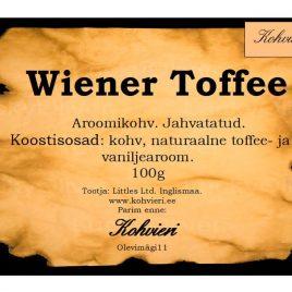 Wiener Toffee 100g valmispakend